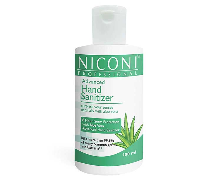 Niconi Advanced Hand Sanitizer Best Hand Sanitizers with Alcohol in India