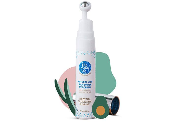 The Moms Co. Natural Vita Rich Under Eye Cream Best Under Eye Creams in India