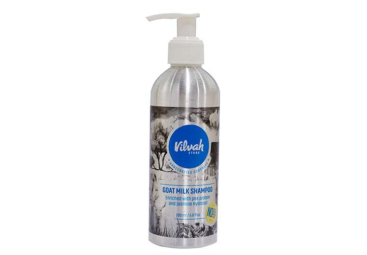 Vilvah Goat Milk Shampoo Best Anti Hair Fall Shampoos in India
