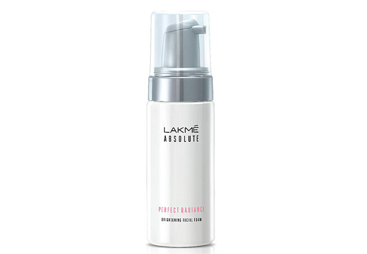 Lakme Absolute Perfect Radiance Facial Foam Best Lakme Face Washes