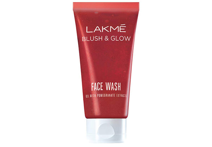 Lakme Blush And Glow Pomegranate Gel Face Wash Best Lakme Face Washes in India