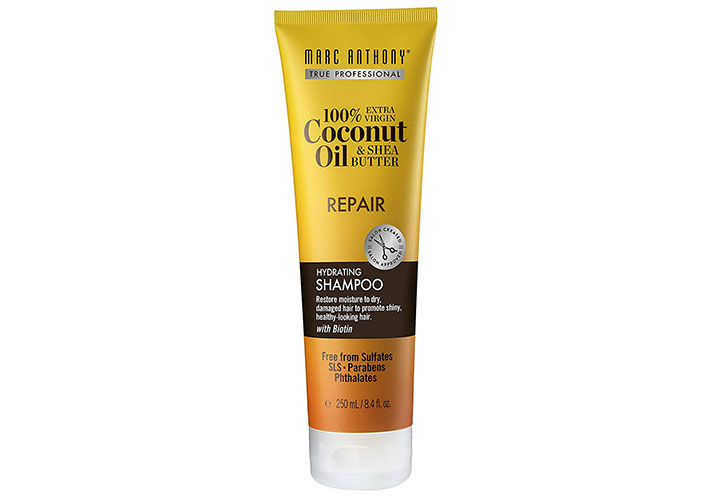 Marc Anthony Coconut Oil & Shea Butter Hydrating Shampoo to Prevent Hair Loss