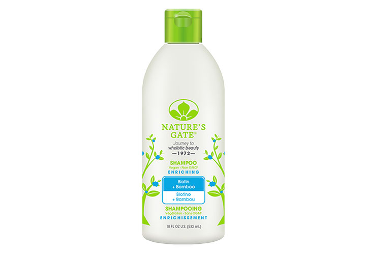 Nature's Gate Biotin and Bamboo Enriching Shampoo for Hair Growth