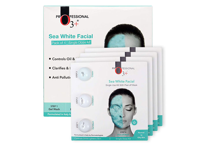 O3+ Sea White Facial Kit Best Facial at Home