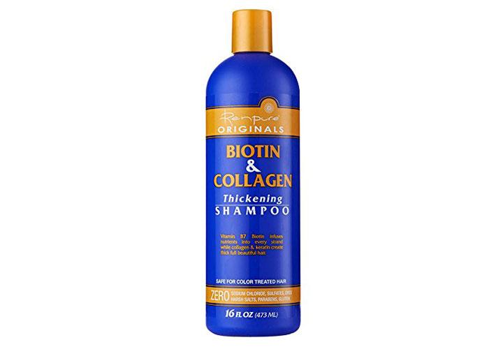 Renpure Collagen and Biotin Thickening Shampoo Best Hair Growth Shampoo with Biotin