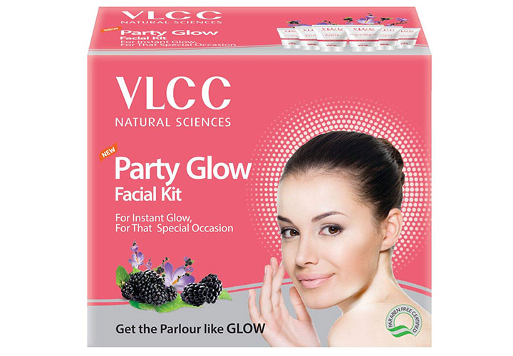 VLCC Party Glow Facial Kit Best Facial Kit for Men and Women