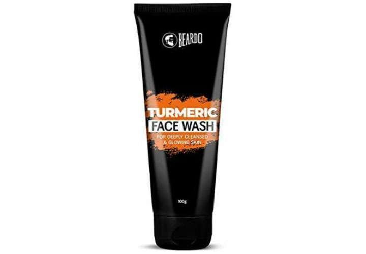 Beardo Turmeric Face Wash For Men Best Men Face Wash in India