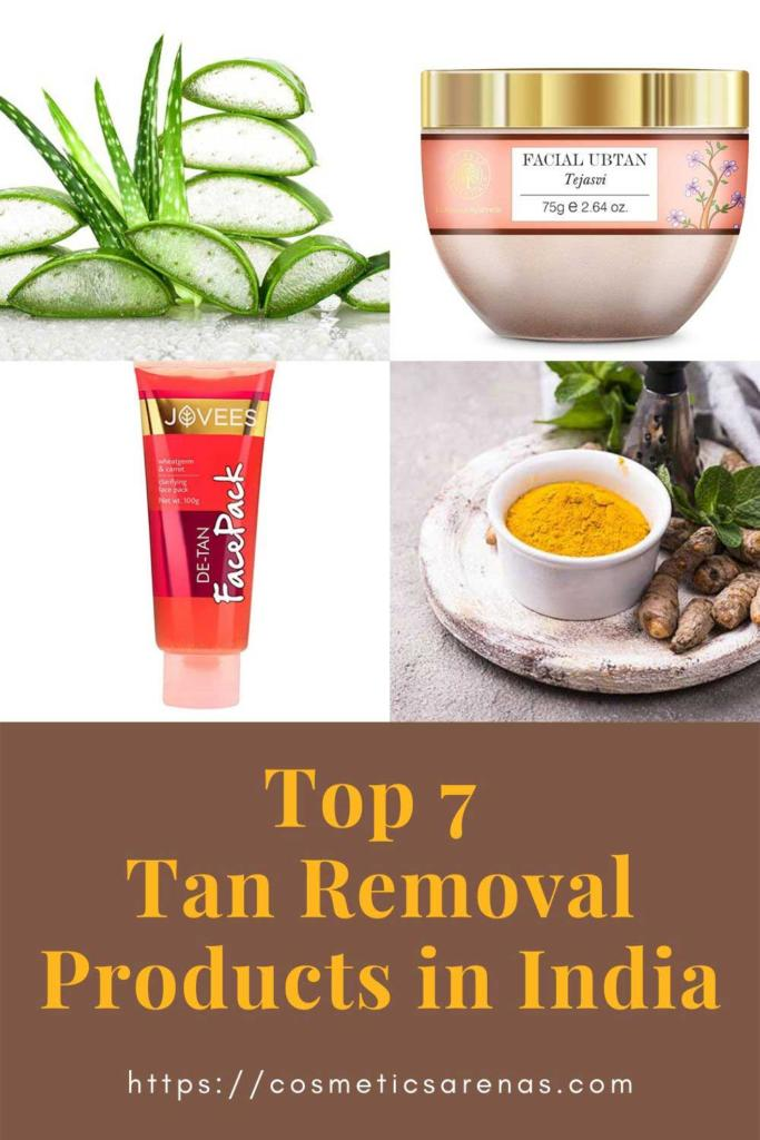 Best Tan Removal Products in India