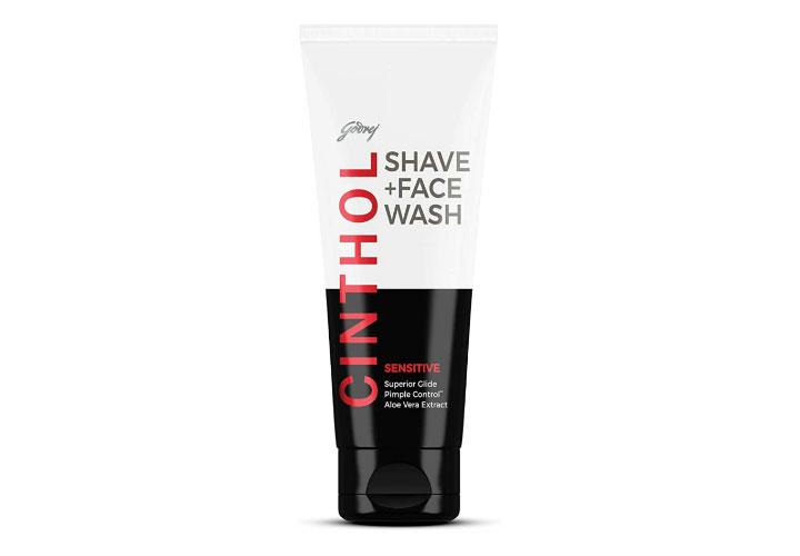 Cinthol Shave + Face Wash Best Face Wash for Men in India