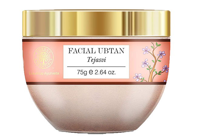 Forest Essentials Facial Ubtan Tejasvi Best Tan Removal Face Packs in India