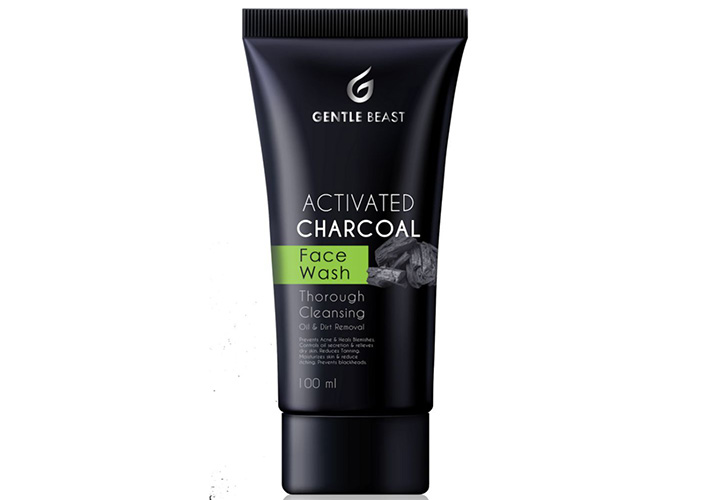 Gentle Beast Activated Charcoal Face Wash Best Face Wash for Men in India