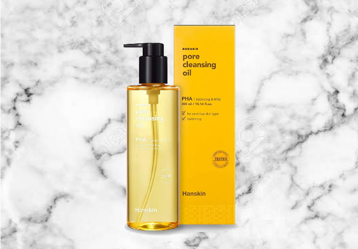Hanskin Pore Cleansing Oil Best Korean Beauty Products of All Time