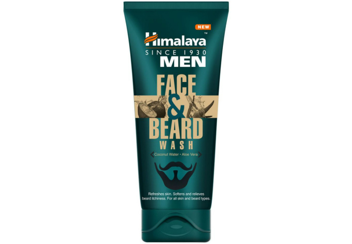 Himalaya Herbals Men Face & Beard Wash Best Men Face Wash in India