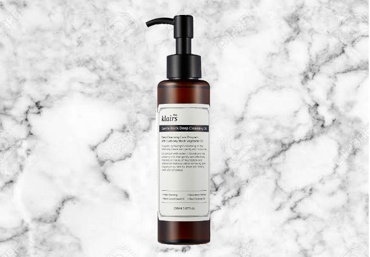 Klairs Gentle Black Deep Cleansing Oil Best Korean Skin Care Products