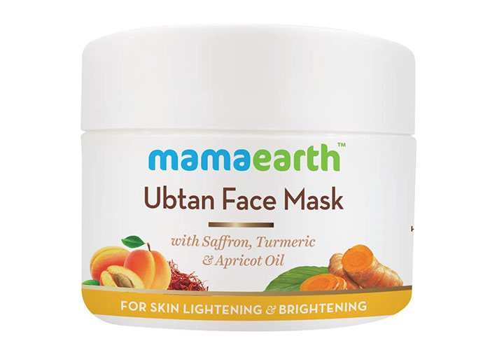 Mamaearth Ubtan Face Mask Best Tan Removal Products in India