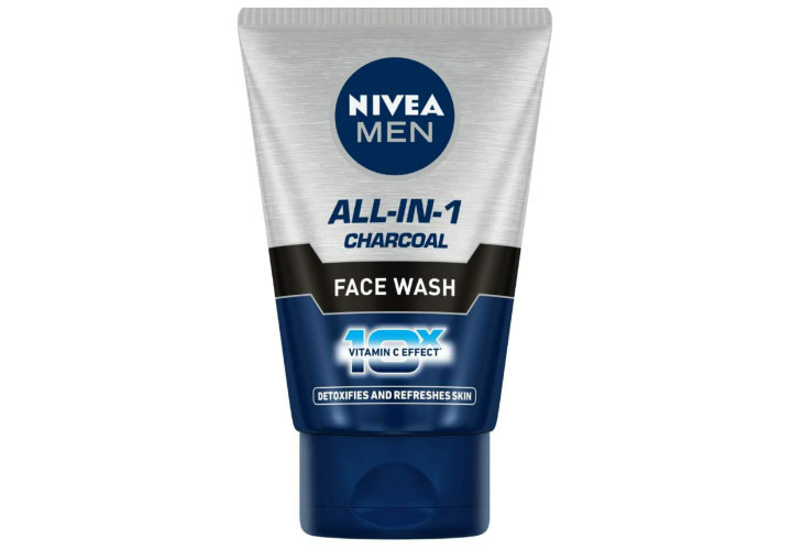 Nivea Men All In One Charcoal Face Wash Best Face Wash for Men in India