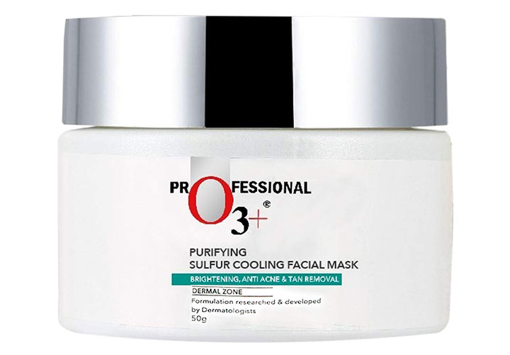 O3+ Purifying Sulfur D-TAN Pack Best Face Mask to Remove Tan
