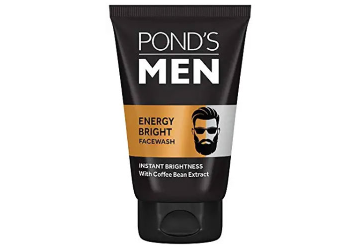 Ponds Men Energy Bright Anti-Dullness Face Wash Best Face Wash for Men in India