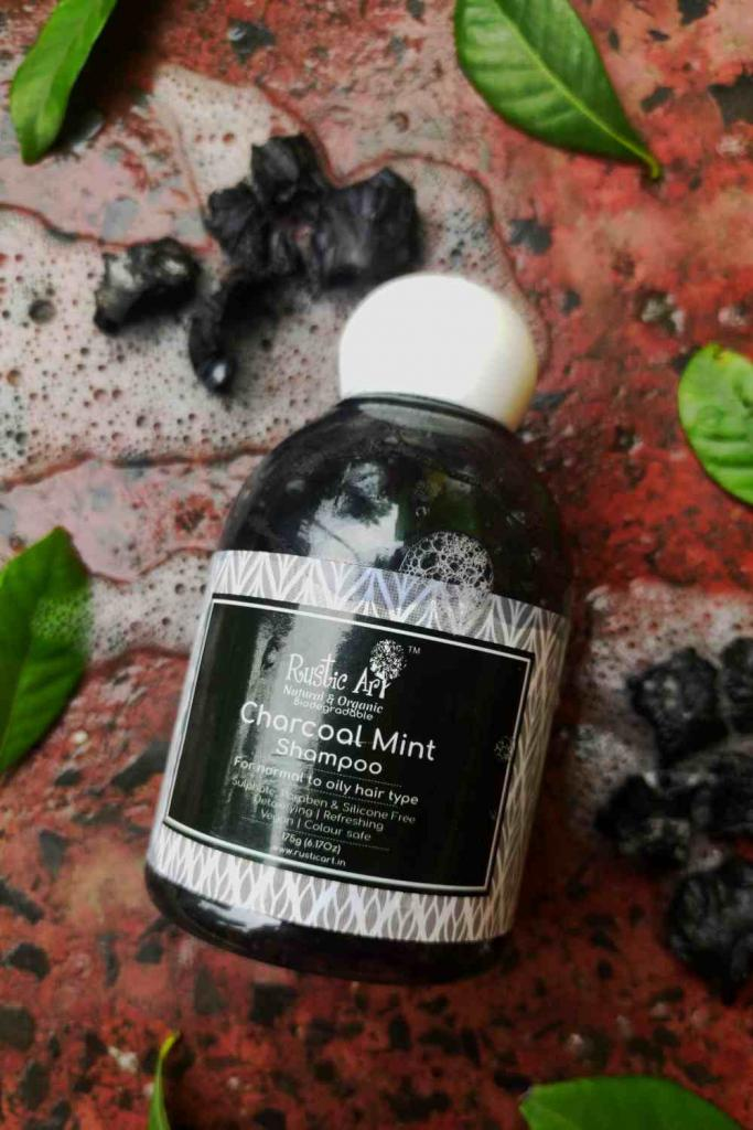 Rustic Art Charcoal Mint Shampoo Review
