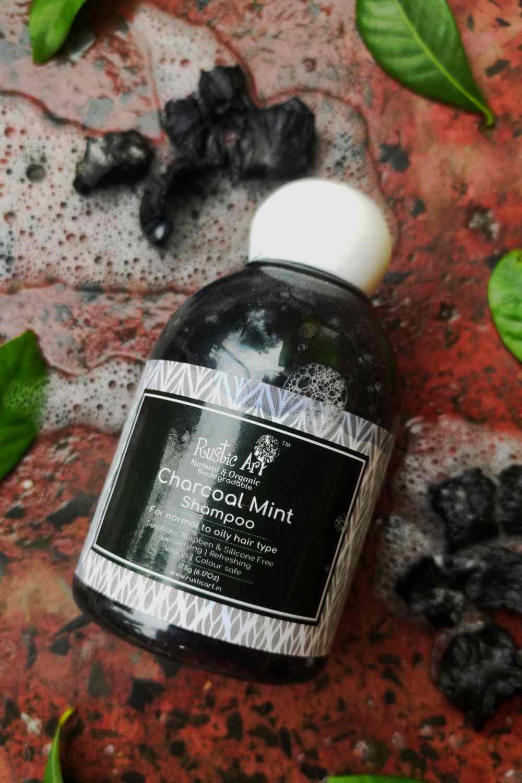Rustic Art Charcoal Mint Shampoo