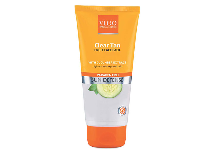 VLCC Clear Tan Fruit Face Pack Best Tan Removal Products in India