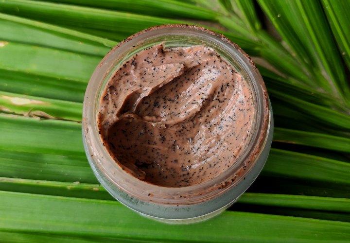 Bhu Botanicals Face Scrub Texture