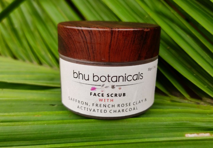 Bhu Botanicals Face Scrub with French Rose Clay Review