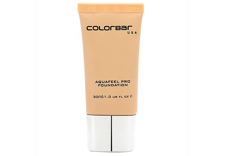 Colorbar Aquafeel Pro Foundation Best Foundations in India for Indian Skin Tone