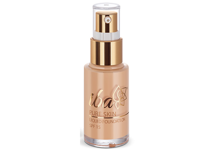 Iba Halal Pure Skin Liquid Foundation SPF 15 Best Foundations in India