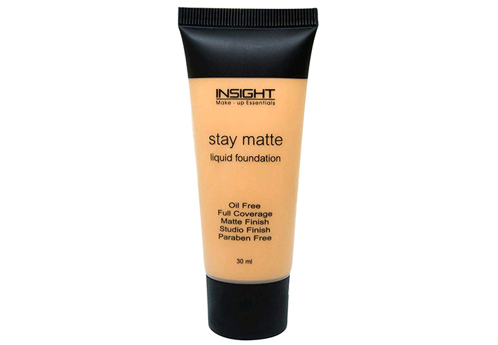 Insight Cosmetics Stay Matte Liquid Foundation Best Affordable Foundations in India
