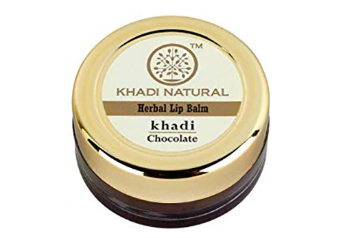 Khadi Natural Chocolate Herbal Lip Balm Affordable Best Lip Balms in India