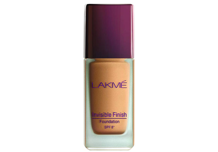 Lakme Invisible Finish Foundation SPF 8 Best Lakme Foundations in India
