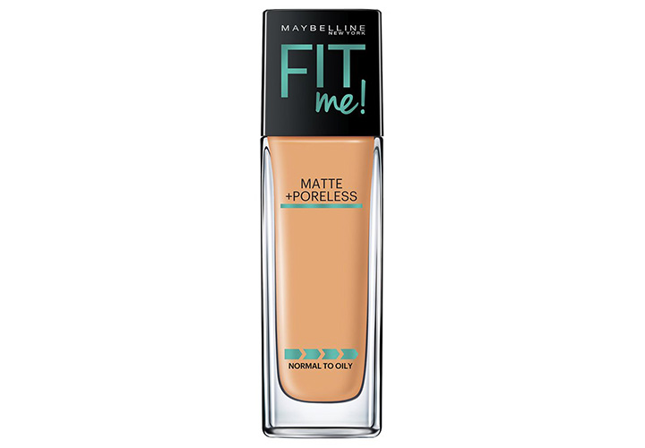 Maybelline New York Fit Me Matte+Poreless Liquid Foundation Best Liquid Foundations in India