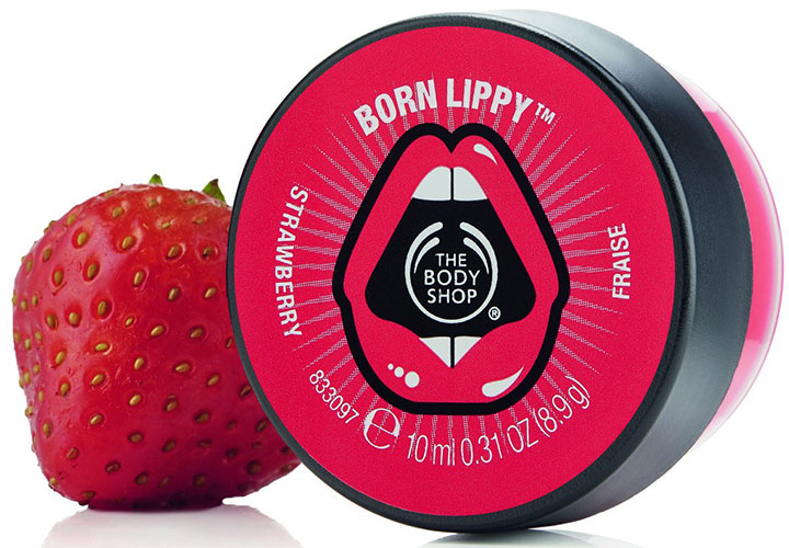 The Body Shop Strawberry Lip Butter Best Lip Balms in India