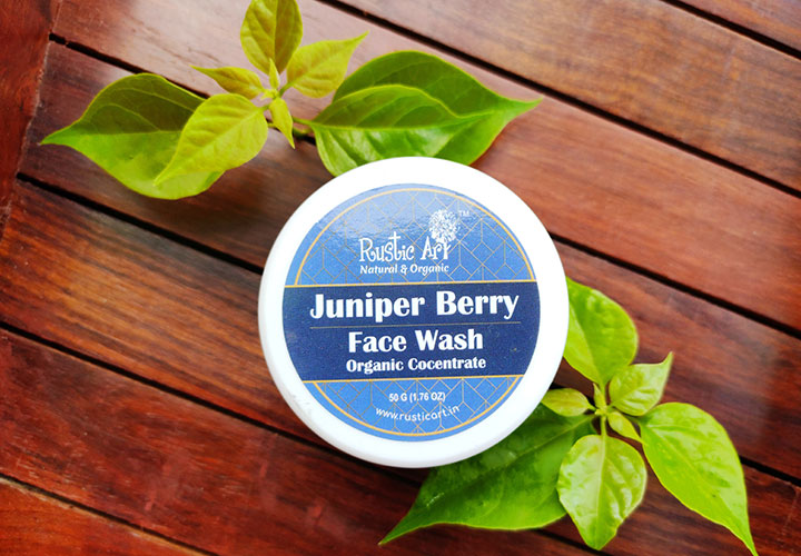 Rustic Art Juniper Berry Face Wash Concentrate Review