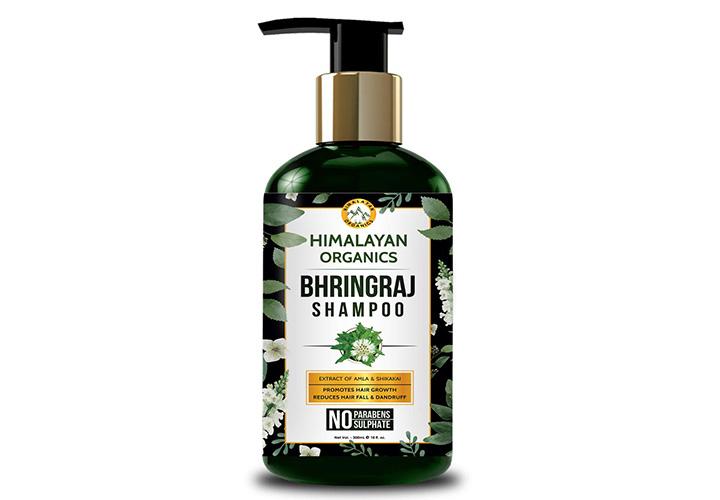 Himalayan Organics Bhringraj Shampoo Best Mild Shampoo