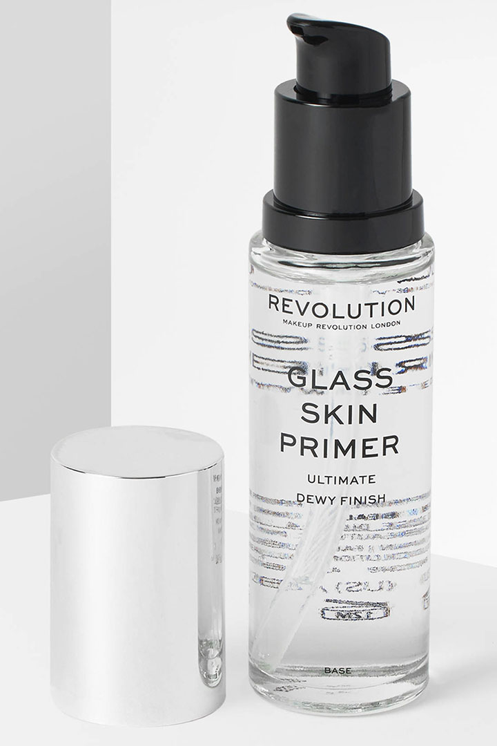 Makeup Revolution Glass Skin Primer Best Dry Skin Primer Worldwide