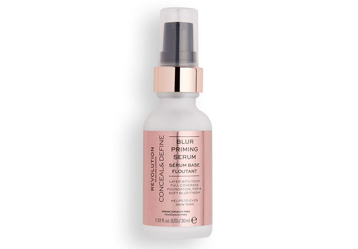 Revolution Skincare Conceal & Define Oil Priming Serum Best Primer for Dry Skin