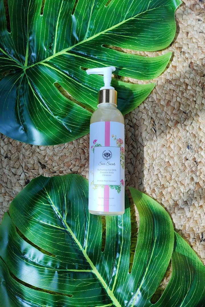 Seer Secrets Hydrating Soy Milk Enzyme Body Cleanser