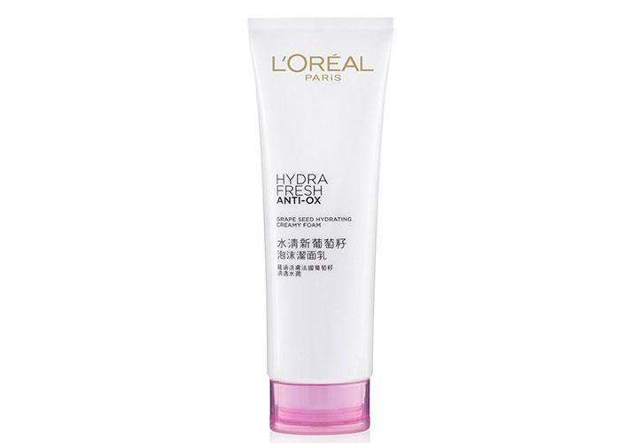 L'Oreal Paris Hydra Fresh Anti-Ox Creamy Foam Best Face Wash for Women in India