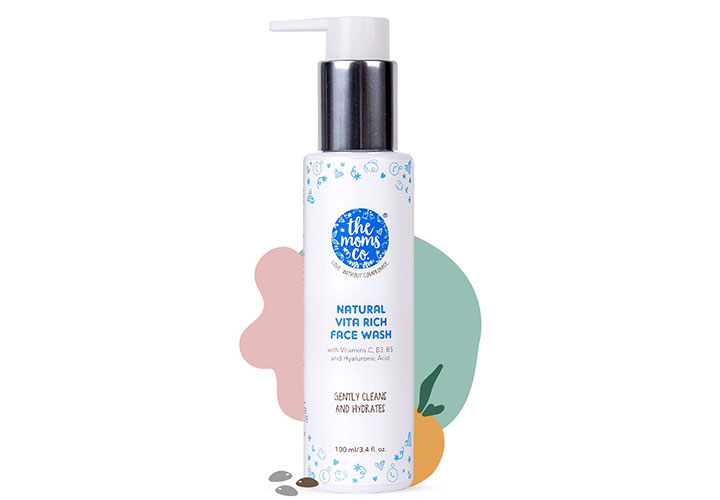 The Moms Co. Natural Vita Rich Face Wash Best Face Wash for Women in India