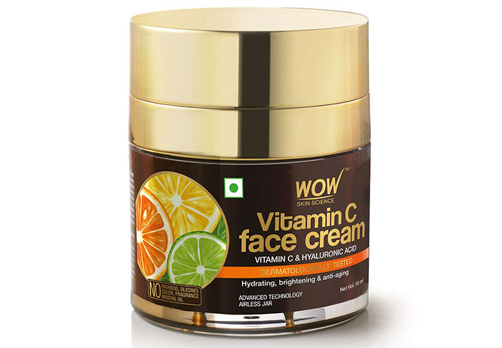 WOW Skin Science Vitamin C Face Cream Best Oily Skin Cream Available in India