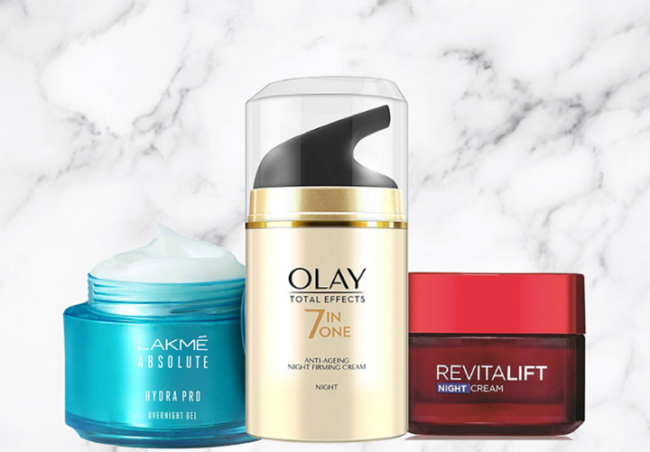 Best Night Cream in India for Every Budget and Every Skin Type