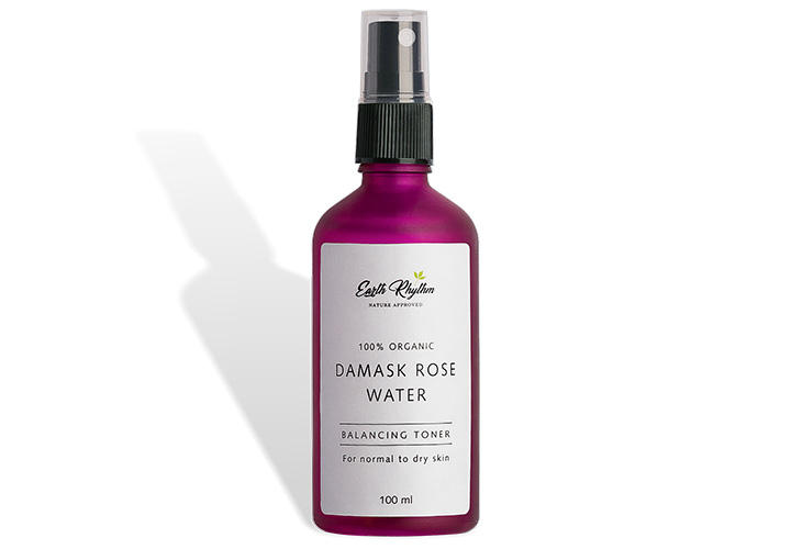 Earth Rhythm 100% Certified Organic Damask Rose Water The Best Rose Water in India