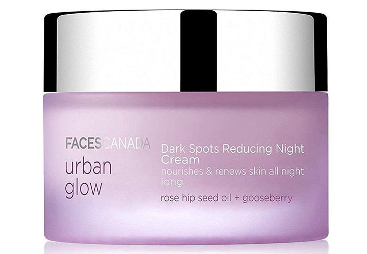 Faces Canada Urban Glow Dark Spots Reducing Night Cream Best Night Cream in India