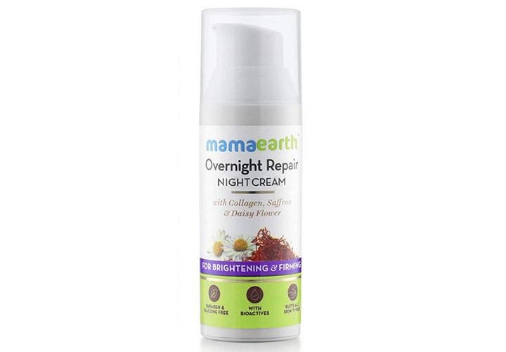 Mamaearth Overnight Repair Night CreamBest Indian Night Cream