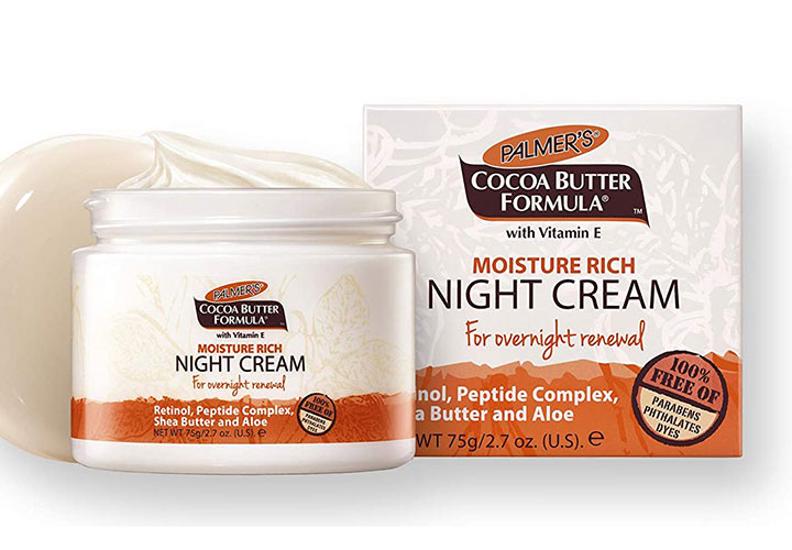 Palmer's Cocoa Butter Formula Moisture Rich Facial Night Cream Best Night in India for Dry Skin