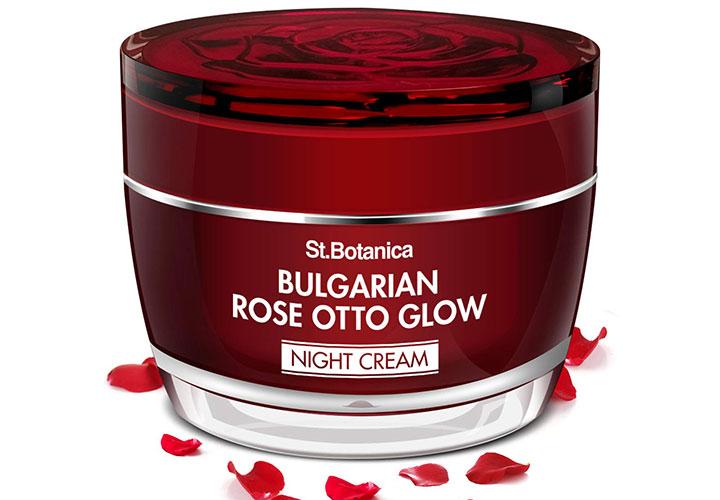 St.Botanica Bulgarian Rose Otto Glow Night Cream Best Night Cream in India