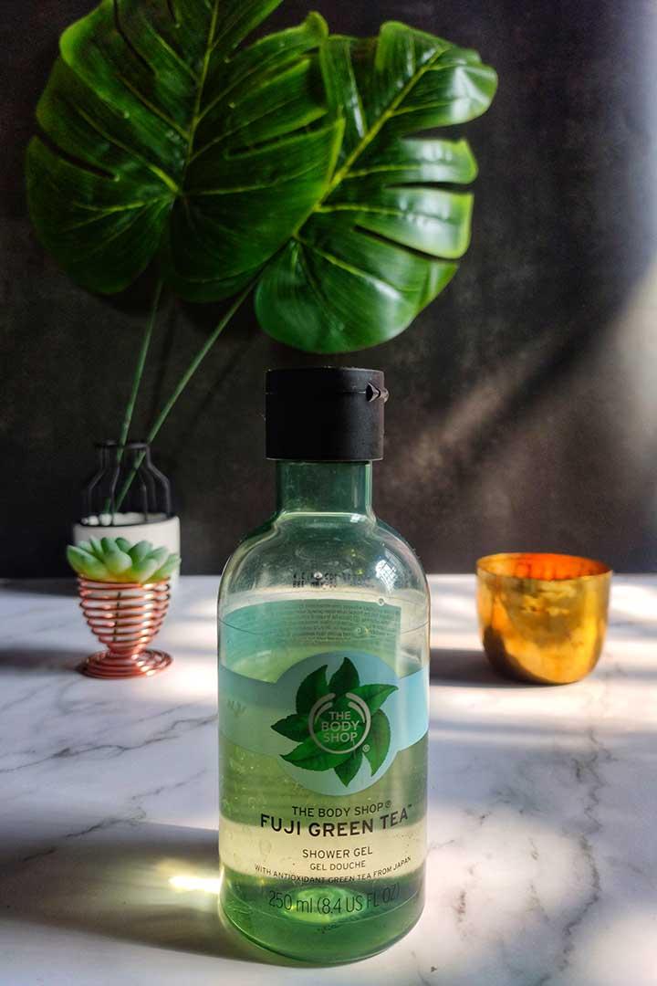 The Body Shop Fuji Green Tea Shower Gel Experience