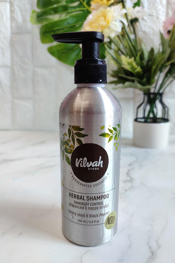 Vilvah Herbal Shampoo for Dandruff Control